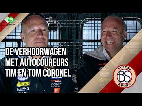 De Verhoorwagen met autocoureurs Tim en Tom Coronel en streaming