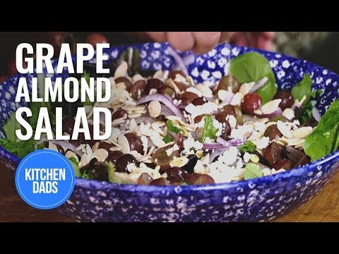 How to Make a Grape and Feta Salad | Easy Salads | Kitchen Dads Cooking
