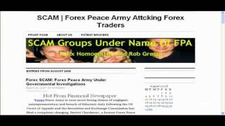 ForexPeaceArmy Scam video 2