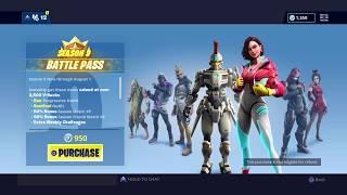 New Sexy Demi & Vega Skin! Fortnite Season 9 Battle Pass Rewards