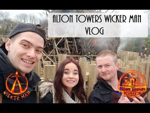 Alton Towers Wicker Man Vlog | March 2018