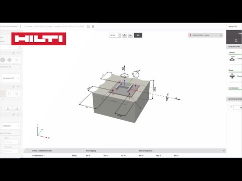 How To Design Anchors For Concrete With The Hilti Profis Engineering Suite Software Youtube