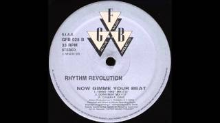 RHYTHM REVOLUTION - NOW GIMME YOUR BEAT (TEKNO
