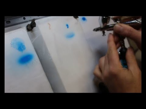 Psi and paint reduction. How to airbrush. A step by step guide,  for beginners and more.