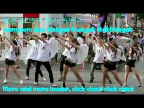 AOA (Ace Of Angel) - Elvis [Flash Mob Event] (Han + Rom + Eng Lyrics)
