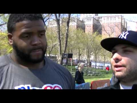 Donovan Smith Tampa Bay Buccaneers Interview At NFL Draft