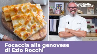 GENOESE  FOCACCIA by Ezio Rocchi PERFECT ORIGINAL RECIPE