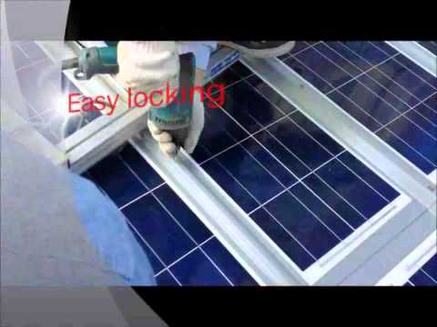Metal Roof PV Modules   Laminated PV Modules Directly on top of Corrugated Metal Roof