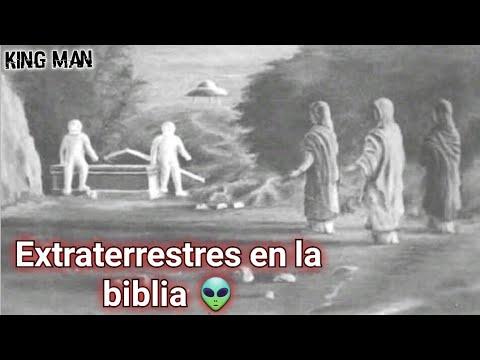 Páginas de la primera versión de la Biblia la cual veto la iglesia porque mostraba extraterrestres ?
