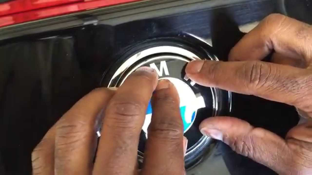 Bmw Z4 Rear Emblem Replacement Youtube