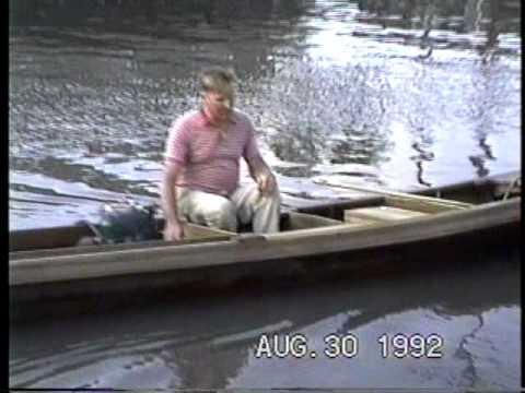 Gramps Putt-Puttin' His Cypress Bateau on Bayou Lafourche (1991)