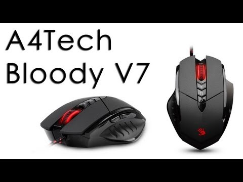 A4Tech Bloody V7 Mouse Review