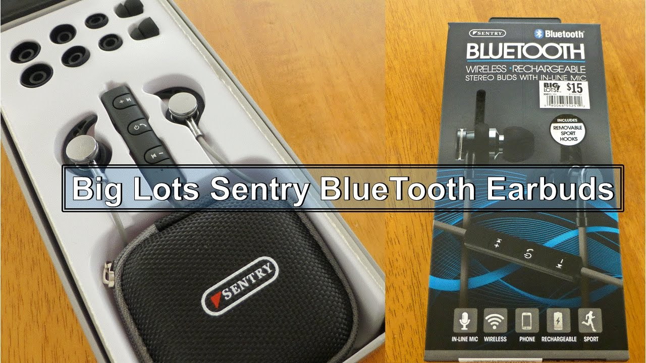 b1b9d4cd6fa BlueTooth Earbuds - $15 - YouTube