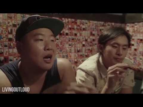 KOREAN DRINKING & BAR FOOD! FT. Justin Chon