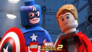 LEGO Marvel Super Heroes 2 Walkthrough Part 5 Hydra Hijinks (Guardians of the Galaxy)