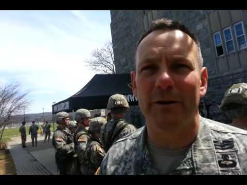Col. Glenn H. Goldman On Sandhurst.