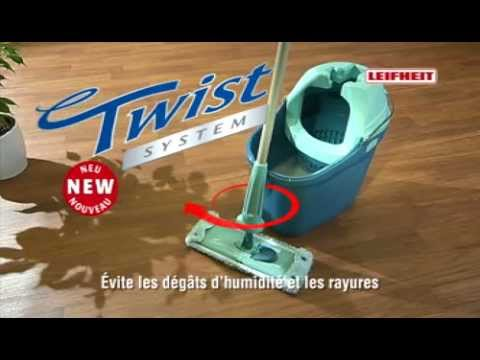 leifheit twist system mop set youtube. Black Bedroom Furniture Sets. Home Design Ideas