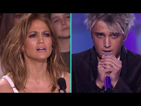 Watch Jennifer Lopez Absolutely Lose It Over 'American Idol' Contestant Dalton Rapattoni
