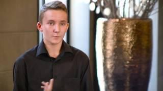 Jeremy : Stage Erasmus Plus dans un hôtel de luxe, Service en salle - Opinion Espamob'