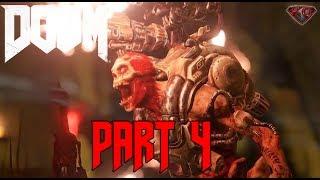 "DOOM 4 Gameplay Walkthrough Part 4 ""Beginning of the End"" 1080p 60fps|Let"