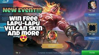 New Event Assemble Warriors Mobile Legends Win Free Lapu-Lapu Vulcan Skin and more
