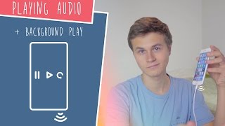 playing Audio  Background Play! (Swift 3 in Xcode)