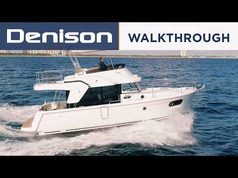 NEW Beneteau 35 Swift Trawler Walkthrough