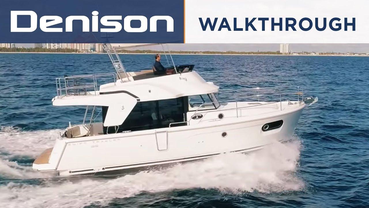Beneteau 35 Swift Trawler Walkthrough YouTube