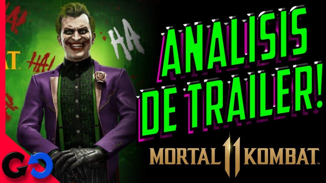 Mortal Kombat 11 ANÁLISIS Trailer Joker!! // Gameplay y Referencias!