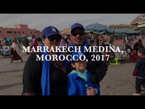 MARRAKECH MEDINA, MOROCCO 2017