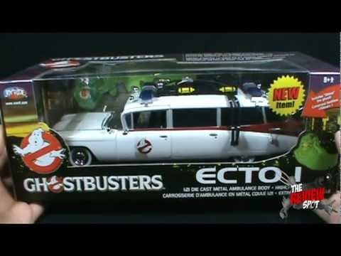 collectible spot joyride ghostbusters 1 21 scale ecto 1. Black Bedroom Furniture Sets. Home Design Ideas