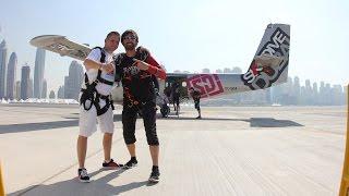 Skyjump over Palm Jumeirah Dubai