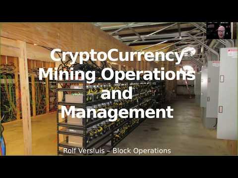 Rolf Versluis - Mid-Size Crypto Mining Farm and ZenCash Presentation