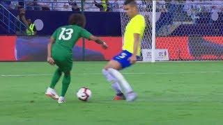 تألق الحارس العويس وسحبات وقتالية المنتخب أمام البرازيل || متعة بدون أهداف