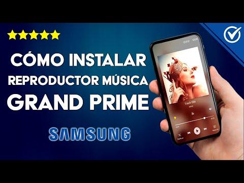 Cómo Descargar e Instalar Reproductor de Música en Samsung Grand Prime