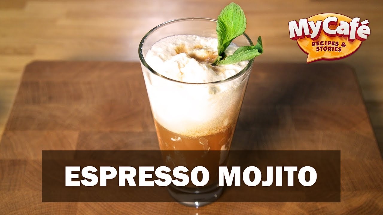 espresso mojito recipe from my cafe and js barista training center youtube. Black Bedroom Furniture Sets. Home Design Ideas