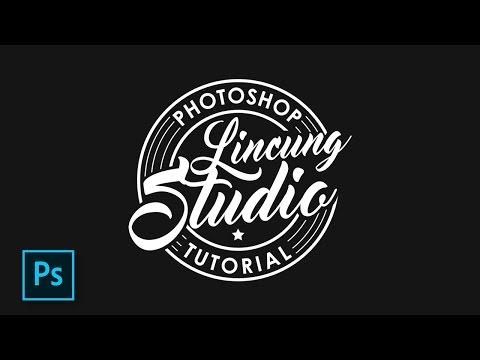 Cara membuat logo dengan photoshop. Super simpel. Semua orang juga bisa.