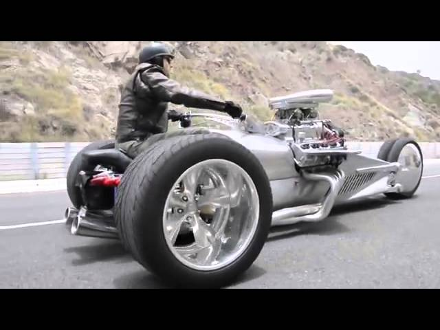 Tim Cotterill ' The Frogman', Rocket 2 Trike  Size Does Matter