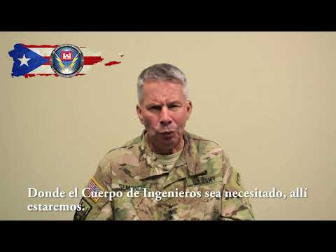 Message from LTG Todd Semonite on Puerto Rico Electric Grid