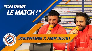 "VIDEO: ""ON REVIT LE MATCH !"" avec... Jordan Ferri & Andy Delort #MHSCASSE"
