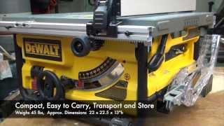 Dewalt Dwe780 Compact Tablesaw