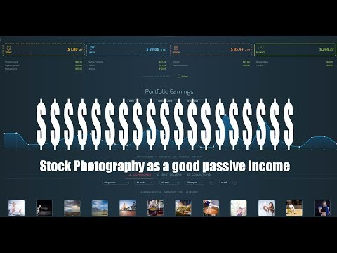Stock Photography - a great passive income