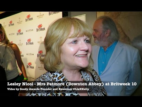 Downton Abbey Lesley Nicol celebrates Shakespeare 400 at Britweek