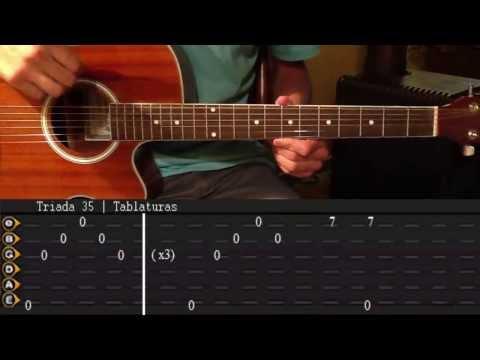 Como tocar Nothing Else Matters - Metallica Tutorial Full Tabs || Triada35 (HD)