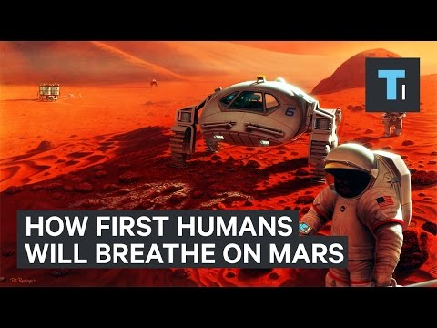 NASA's Chief Scientist explains how humans will breathe on Mars