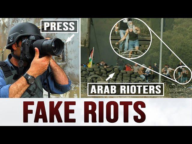 Exposing a Fake Palestinian Riot (SHOCKING FOOTAGE)