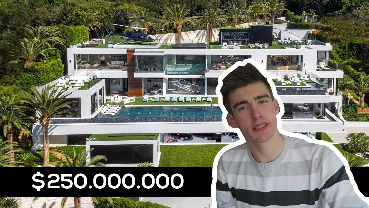 Duurste Huis Op De Wereld 250 000 000 Flexuz Youtube