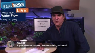 Ep10.1 - #AskBRStv LIVE Ryan takes reef tank flow questions.