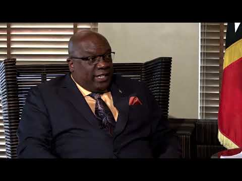 Interview with Hon. Timothy Harris on CARICOM's recent diplomatic mission to the United Nations