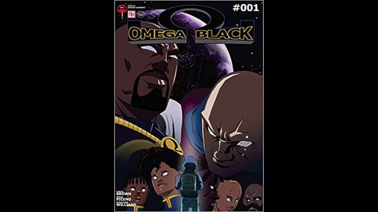 Omega Black Awesome African American Manga YOU MUST READ
